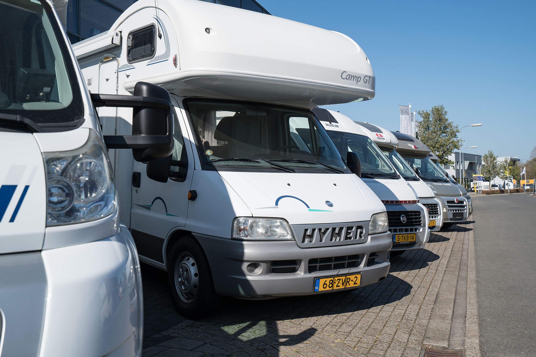 Informatie campers